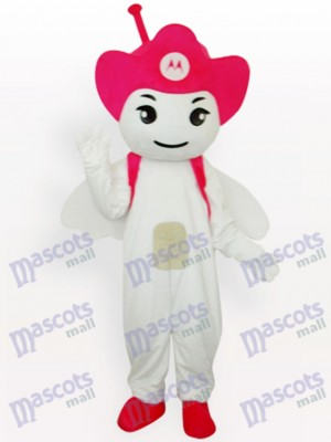 Costume de mascotte adulte Rose Moto Angel Party