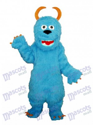 Bleu Sulley Monsters Inc Mascotte Adulte Costume Dessin animé Anime