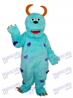 Sulley Monsters Inc Mascotte Adulte Costume Dessin animé Anime