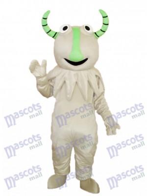Gris Monstre Mascotte Adulte Costume Dessin animé Anime