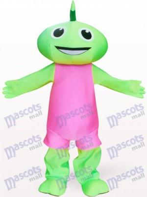 Costume de mascotte adulte Fée verte