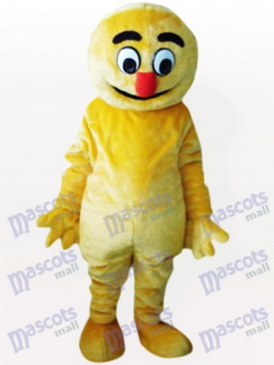 Costume de mascotte adulte Boogie Man Party jaune