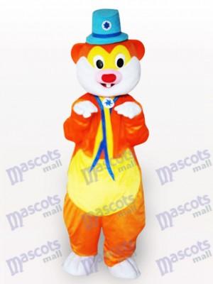 Chapeau bleu Costume de mascotte animal souris
