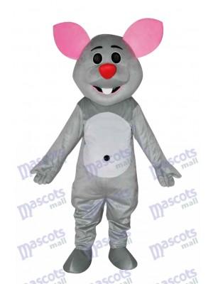 Costume de mascotte souris grise Animal