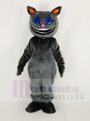 Réaliste Cheshire Chat de D'Alice Aventure dans pays des merveilles Mascotte Costume Dessin animé