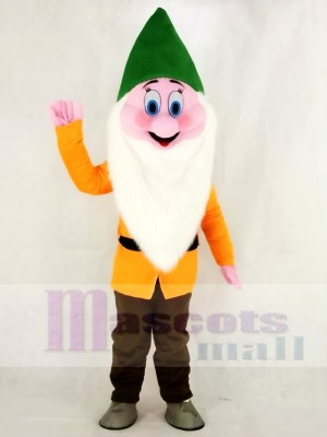 Marrant Timide Nains Mascotte Costume Dessin animé