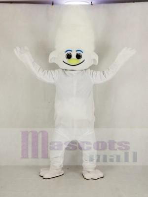 Réaliste Trolls Gars diamant argent Garçon Mascotte Costume École