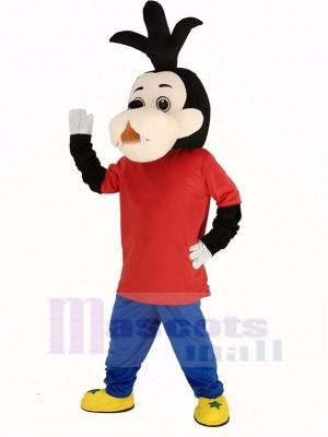 Goofy Chien Fils Mascotte Costume Dessin animé