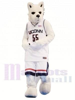 le Des sports Rauque Chien Costume de mascotte