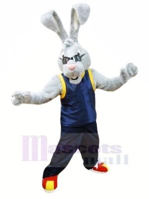 Puissance lapin Mascotte Les costumes Dessin animé