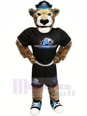 Puissance sport Jaguar Mascotte Costume Dessin animé