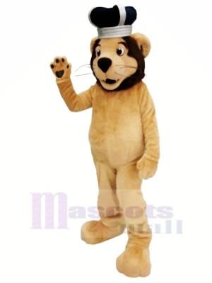 Roi Lion Mascotte Les costumes Dessin animé