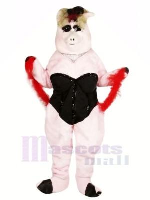 Lola Porc Mascotte Les costumes Dessin animé
