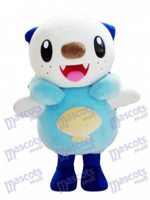 Costume de mascotte d'Oshawott Pokémon de Pokémon GO Type d'eau Monstre de poche Mitaine de loutre de mer
