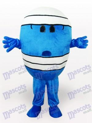 Costume de mascotte de dessin animé de Mr Wrestling