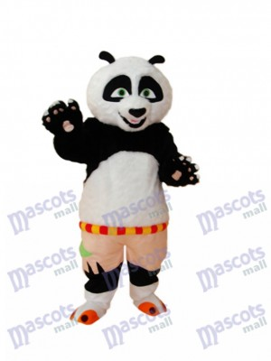 Kung Fu Panda Mascotte Costume Adulte Animal