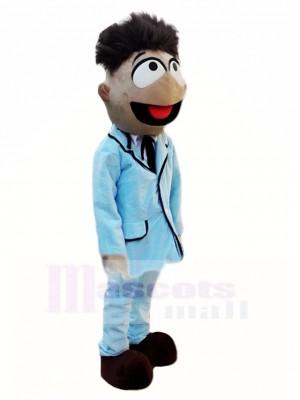2e version de Patron optimiste Ernie Costume de mascotte