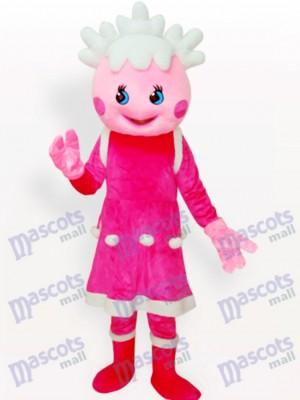 Costume de mascotte adulte rose princesse de bande dessinée