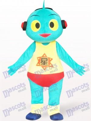 Belle Costume de mascotte de bande dessinée de poupée de Mars