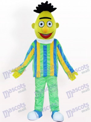 Costume de mascotte adulte de dessin animé de poupée de maïs