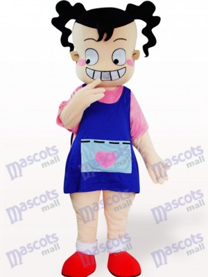 Costume de mascotte adulte de dessin animé de laide laide