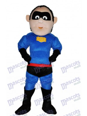 Superman Adulte Mascotte Costume Dessin animé Gens