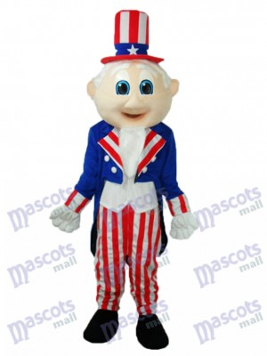 Uncle Sam Mascot Adult Costume