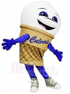 Qualité supérieure Crème glacée Costume de mascotte
