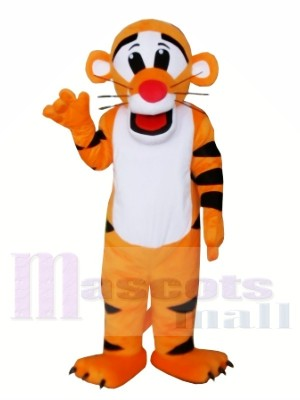 Nouveau tigre professionnel Costumes de dessin animé de mascotte