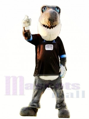 Sussex Criquet Requin gris Costume de mascotte
