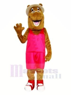 Heureux chameau avec costume Mascotte Les costumes