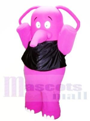 Graisse Rose l'éléphant Costumes De Mascotte