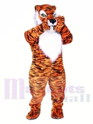 Qualité professionnelle tigre Costumes De Mascotte