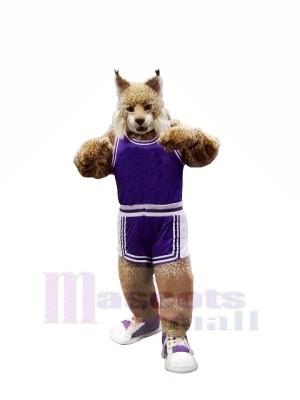 École Lynx dans Costume Mascotte Les costumes Dessin animé