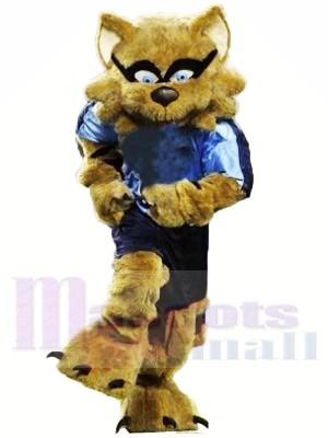 Fort marron Raton laveur Mascotte Les costumes Animal