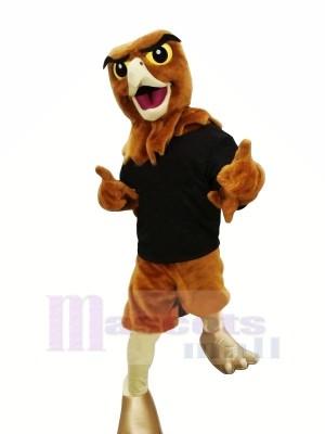 Heureux faucon Mascotte Les costumes Adulte