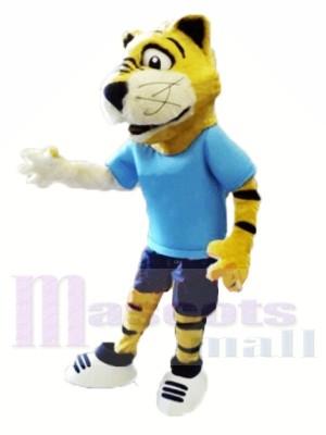 College Furry Tiger Costumes De Mascotte