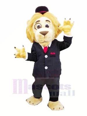 Solliciteur Lion Mascotte Les costumes Dessin animé
