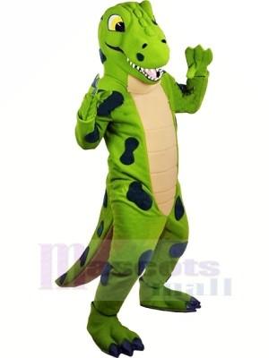 Drôle vert Dinosaure Mascotte Les costumes Animal