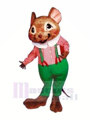 Belle Souris avec Gros Oreilles Mascotte Les costumes Animal