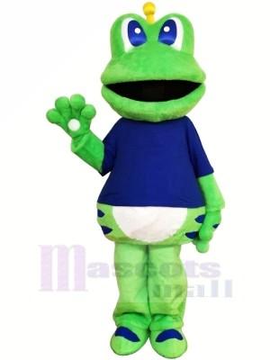 Haute Qualité Velu La grenouille Mascotte Les costumes