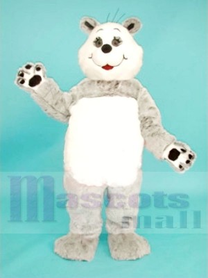 Mignonne Réaliste Panda Ours Mascotte Les costumes Animal