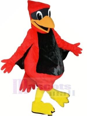 rouge Poids léger Cardinal Mascotte Les costumes Dessin animé