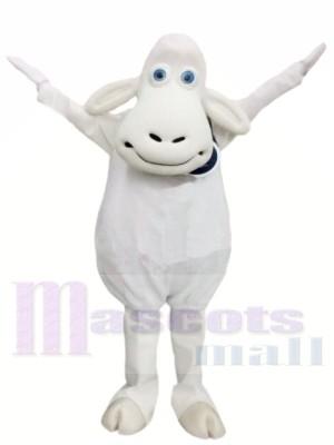 Mouton blanc Costumes De Mascotte