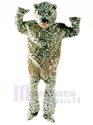 Féroce Léopard Mascotte Les costumes Adulte