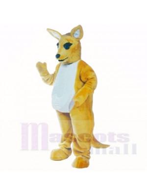 Amical Poids léger Kangourou Costumes De Mascotte Adulte