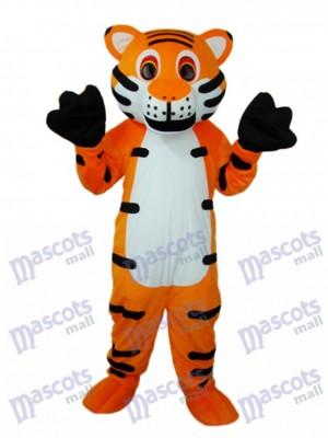 Mascotte de tigre rouge Costume adulte Animal