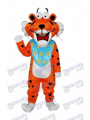 À pois Drôle tigre Adulte Mascotte Costume Animal