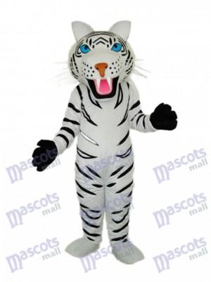 blanc tigre Mascotte Adulte Costume Animal