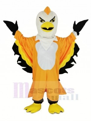 Orange Thunderbird Mascotte Costume Animal